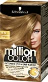 Million Color Intensiv-Pigment-Farbe 8-0 Leuchtendes Blond, 3er Pack (3 x 1 Stück)