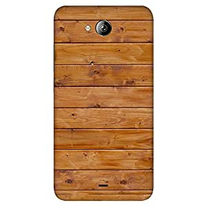 Mobo Monkey Designer Printed Back Case Cover for Micromax Canvas Play Q355 (Wooden :: Wood :: Rugged :: Stripes :: Texture)