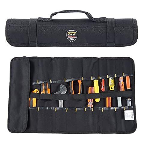 Babimax Pockets Roll Maintenance Kit Tools Box Tool Belt Work Gear Large Wrench Roll Hardware Storage Organizer