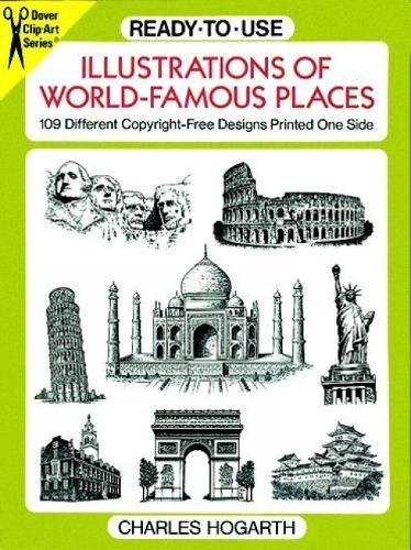 Ready-To-Use Illustrations of World-Famous Places: 109 Different Copyright-Free Designs Printed One Side...