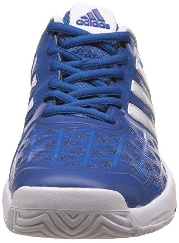 adidas Unisex-Kinder Barricade Club Tennisschuhe Blau (Eqt Blue/Ftwr White/Shock Blue)