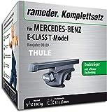 Rameder Komplettsatz, Dachträger SquareBar für Mercedes-Benz E-Class T-Model (116010-08160-7)