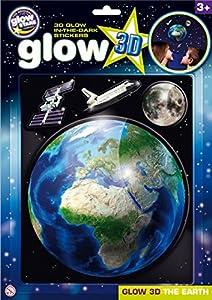 The Original Glow Stars Company Glow 3d tierra