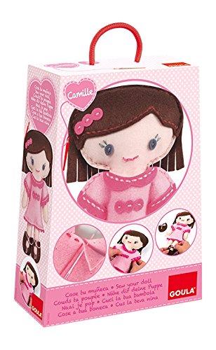 Goula- CREA tu muñeca Camille, (Diset 52022)