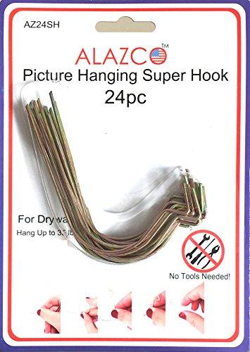 10Super Haken-Aufhängen Bilder ohne Hammer, Nägel oder Bohren. AS SEEN ON TV, AZ24SH