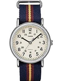 Timex Unisex-Armbanduhr Weekender Analog Quarz T2P234D7