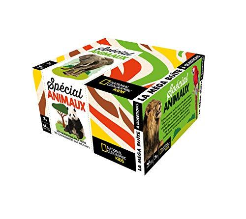 La méga boîte à questions - Spécial animaux - boite avec dé par Les Fées Hilares