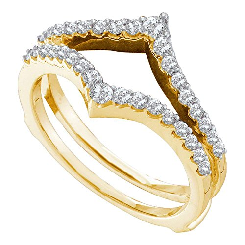 Jewels By Lux Damen Ring Guard Wrap Enhancer Hochzeitsband 9 -