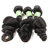 BKPH 100 Gramm Brasilianisches Jungfrau-Haar, Das lose Welle 100% Menschenhaar-Einschlagfaden-Remy Haar-Verlängerung mit natürlicher Farbe webt, 14 inch