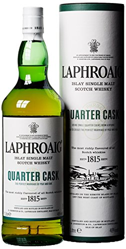 Laphroaig Quarter Cask mit Geschenkverpackung  Whisky (1 x 1 l)