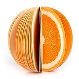 Uuouu memo notes 3D a forma di frutta non-sticky cute Kawaii DIY blocchetti frutta colorata cancelleria creativa decorazione della tavola post bloc notes, confezione da 3