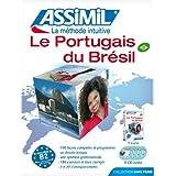 Le portugais du Brésil (livre +4CD audio) by Collectif (2009-12-18)