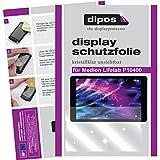 dipos I 2X Schutzfolie klar passend für Medion Lifetab P10400 Folie Displayschutzfolie