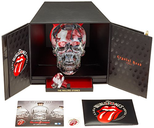 Crystal Head Wodka Rolling Stones 50th Anniversary Limitierte Geschenkbox (1 x 0.7 l) Crystal Grappa