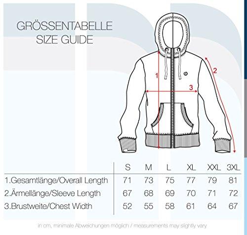 !Solid Benn High-Neck Herren Sweatjacke Kapuzenjacke Hoodie mit Kapuze Reißverschluss und Fleece-Innenseite, Größe:S, Farbe:Black (9000) - 6