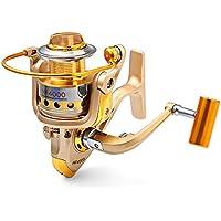 Wenquan,HF - 7000 Fishing Reel 10 rodamientos de Bolas 5.5: 1(Color:CHAMPÁN,Size:4000 TAMAÑO)