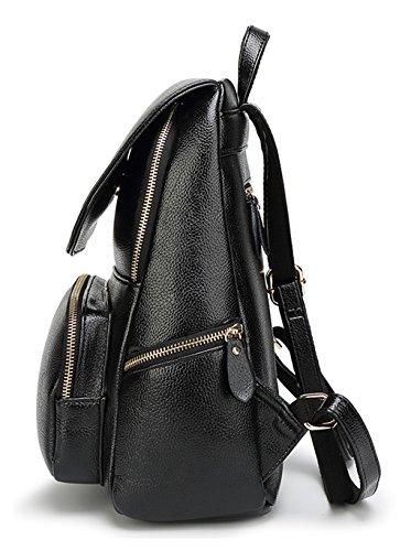 Tibes de haute qualité pu sac à dos en cuir petit sac à main sac à dos Marron