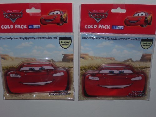 Cold-pack Set (Disney Cars Cold Pack (Sold as a set) by Disney)