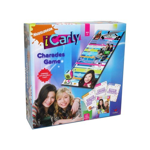 Nickelodeon iCarly Charades Game