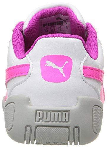 Puma Tune Cat 3 PS Leder Turnschuhe Puma White-KNOCKOUT PINK