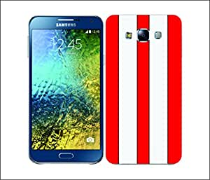 Galaxy Printed 2945 Transport Paints RedRace Hard Cover for Samsung ACE 3 (7272)