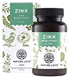 NATURE LOVE® Zink 25mg 365
