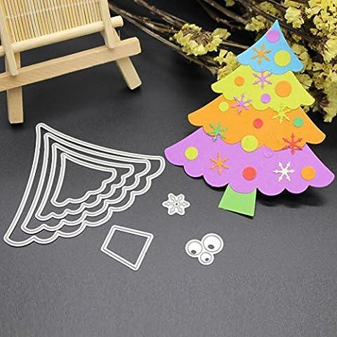 Xshuai® Merry Christmas Metal Cutting Dies Stencils Scrapbooking Embossing DIY