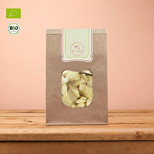 süssundclever.de® 1 kg Bio Kakaobutter | pflanzliche Butter-Alternative (1000)
