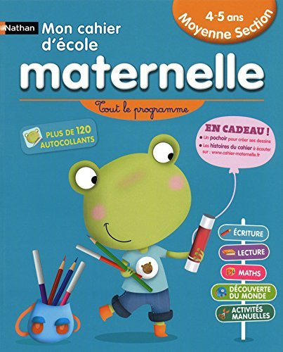 CAHIER ECOLE MATERNELLE MS 4-5 by NICOLE HERR (2010-07-01)