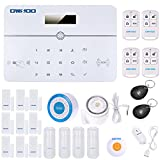 OWSOO Wireless Home Einbrecher Sicherheit Alarm System Auto-Wahl PSTN LCD Display Voice Prompt Telefon Fernbedienung