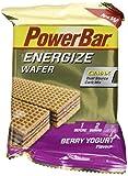 Powerbar Energize Wafer - 40 g x 12 Bars, Berry Yoghurt