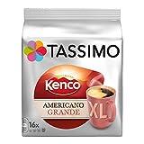 Tassimo Americano Kenco Grande XL Feine Röstung Kaffeekapsel Röstkaffee