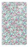 Taschenplaner Style Blumenwiese 2019 - Taschenkalender (9,5 x 16) - seperates Adressheft - 1 Seite 1 Woche - 64 Seiten