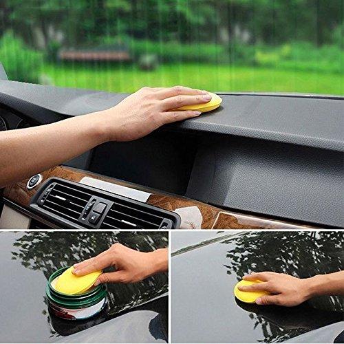 Jscarlife-ceretta-polacco-schiuma-spugna-applicatore-cera-pastiglie-Fit-per-pulire-auto-veicolo-auto-vetro-13-cm-giallo