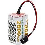 OEGE paquete de batería del receptor / 4.8V / 2800mAh / NiMH / Graupner compatibles