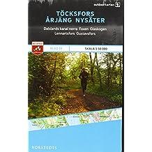 Outdoorkartan Schweden 16 Töcksfors - Arjäng - Nysater 1 : 50 000: amtliche Karte