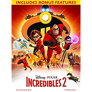 Incredibles 2 (with Bonus Content)