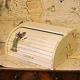 Vintage Brotkasten 38,5x28,5x18 cm Handarbeit Kasten Brotkiste Aufbewahrung Box