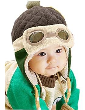 Mütze Baby Warme Hut Wintermütze Strickmützen Mädchen Schlupfmütze Mütze Beanie Ballonmütze Hüte Wintermütze Schlupfmütze...