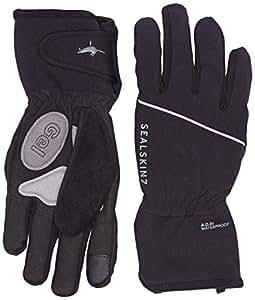 SealSkinz Men's Winter Cycle Waterproof Gloves - Black, Small