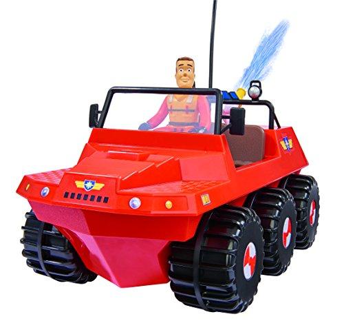 RC Auto kaufen Feuerwehr Bild 3: Dickie Toys 203099620 - RC Feuerwehrmann Sam Hydrus, funkferngesteuert zu Wasser und zu Land, 30 cm*
