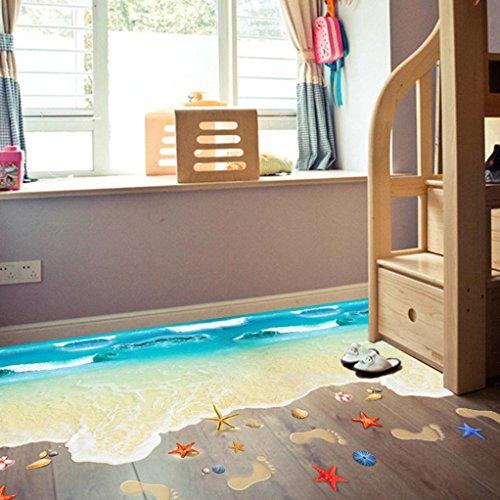 kingkor-3d-beach-floor-wall-sticker-removable-mural-decals-vinyl-art-living-room-decor