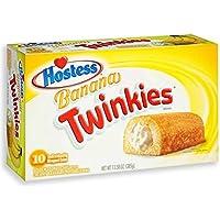 Hostess Banana Twinkies 10 Cakes 13.58 oz