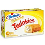 Hostess Banana Twinkies 10 Cakes 13.58 oz