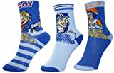 Modern Style Kids Pack of 3 Lazy Town Sportacus Soft Birthday Socks (Material: Cotton/Nylon) (Size 6-8)