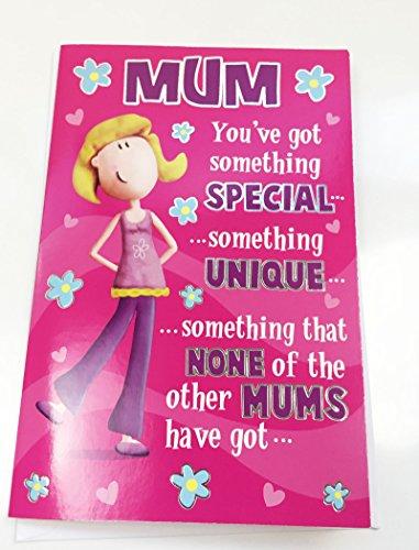 Muttertagskarten, englische Aufschrift
