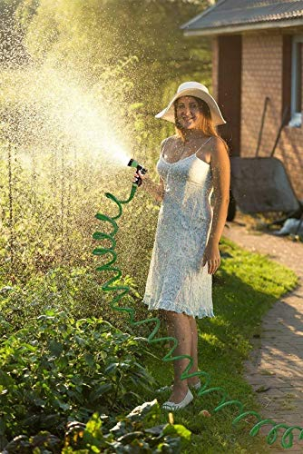 DharmikEnterprisemall-Washing-Gardening-Water-Spray-Gun-with-50ft-Adjustable-Hose-Pipe