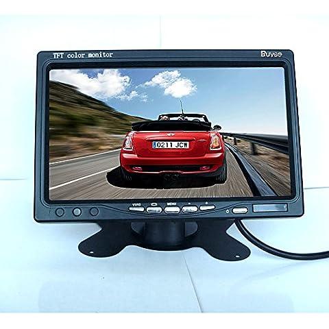 Leonardo 17.8cm SCHERMO TFT Color LCD Auto Telecamera Posteriore Controllo