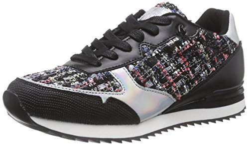 REPLAY Vollen Damen Sneakers Mehrfarbig (Blue Silver 1455)