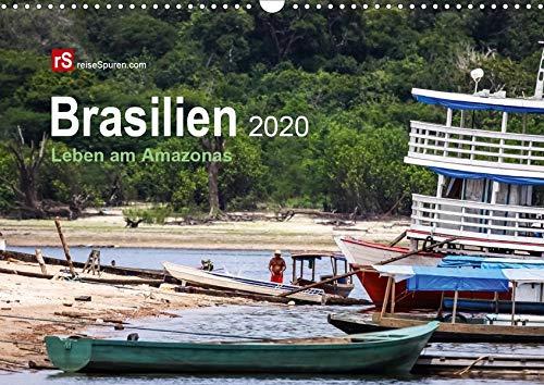 Brasilien 2020 Leben am Amazonas (Wandkalender 2020 DIN A3 quer): Mythos Amazonas - das größte tropische Waldgebiet und das größte Flusssystem der ... (Monatskalender, 14 Seiten ) (CALVENDO Natur)